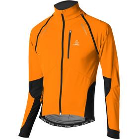 Löffler San Remo Windstopper Softshell Bike Zip-Off Jacke Herren orange